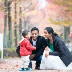 家族写真第4弾 子どもの成長の速さを実感 秋の紅葉で家族を撮る!