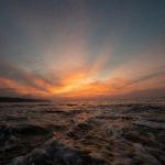 奄美の旅①大浜海岸の夕日にうっとり